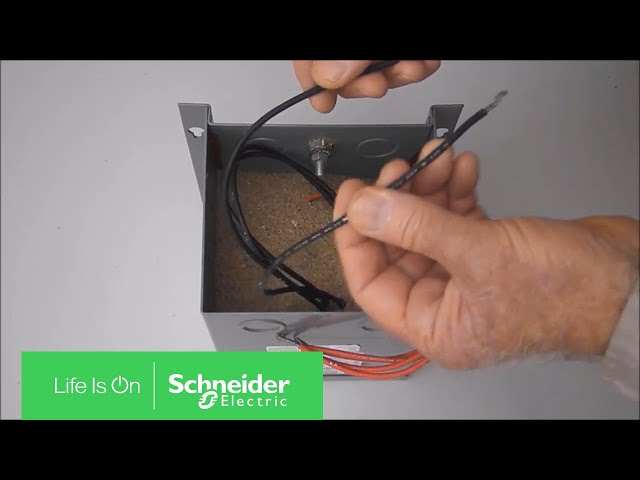 wiring 480/240v to 240/120v on epoxy resin encapsulated transformers |  schneider electric support - youtube  youtube