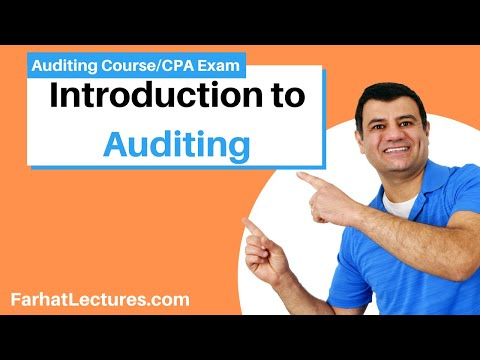 What is an audit? Auditing and attestation course CPA AUD Exam