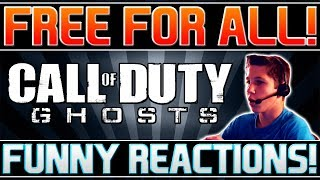 Call of Duty Ghosts: Free For All Funny Moments! (Hilarious Reactions)
