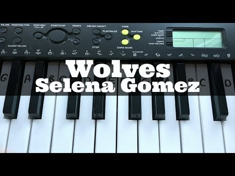 Wolves - Selena Gomez Ft Marshmello | Easy Keyboard Tutorial With Notes (Right Hand)