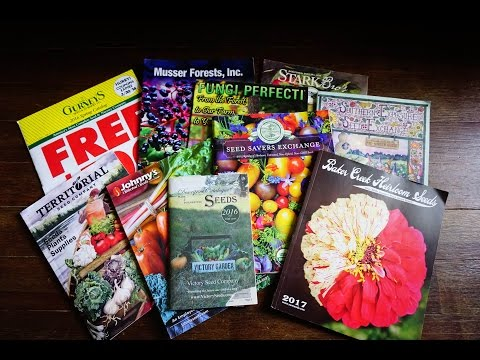 Seed Catalogs You May Not Have Considered 2017 for Homesteaders and Home Gardeners 🌿
