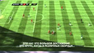 EA SPORTS FIFA 11 Россия - Ирландия Евро 2012