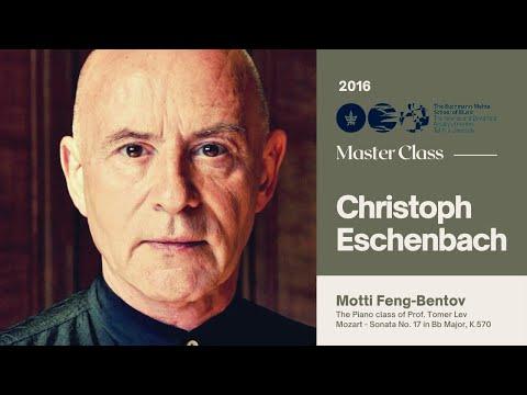 Christoph Eschenbach Piano Master Class - Motti Fang-Bentov