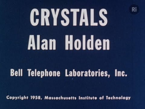 Crystals - Alan Holden 1958