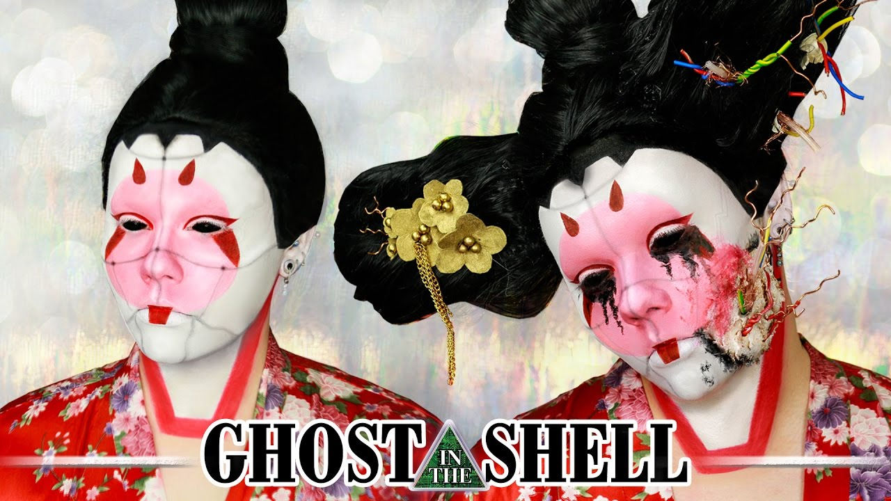 Ghost In The Shell Geisha Bot Cosplay Transformation Electra Snow Youtube
