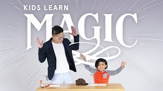 Kids Learn Magic | Disappearing Coin Trick! | HiHo Kids
