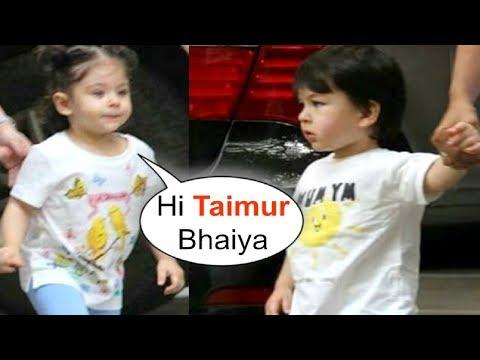 Taimur Ali Khan Sister Inaaya Khemu Gets EXCITED To See Him In Garden