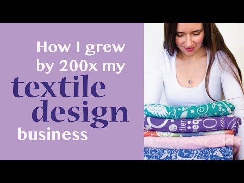 How I Grew  My Textile Design Business By 200x In 2 Years