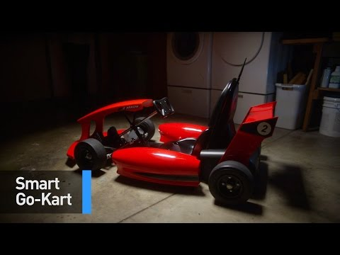 This Crazy Go-Kart Is Equipped With Speakers, a GPS, AND Wi-Fi