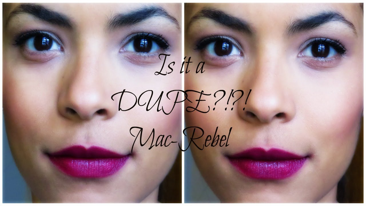 Top 4 Affordable Dupes For MAC Rebel — Nayab Loves |Mac Rebel Lipstick Nyx Dupe
