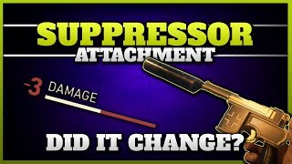 CoD WW2 Suppressor Attachment  Has it Changed with the Division Update