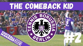 NEW SIGNINGS FM21 THE COMEBACK KID 2 TENNIS BORUSSIA BERLIN GERMANY FOOTBALL MANAGER 2021
