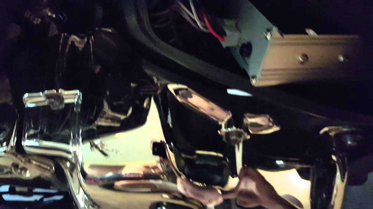 Motorcycle Speaker Installation V Star 650 Youtube Yamaha Wiring Diagrams