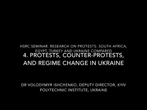 Protests around the world 4: The Ukrainian Case