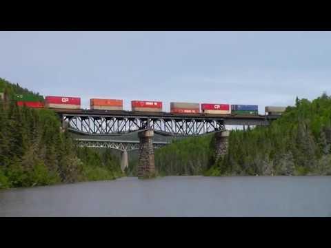 Canadian Pacific Heron Bay & Nipigon Subdivision's (July/August 2019)