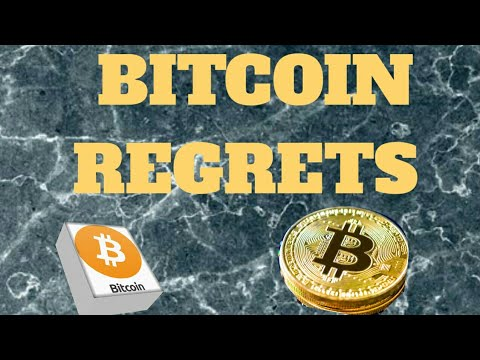 Greatest Bitcoin Regrets