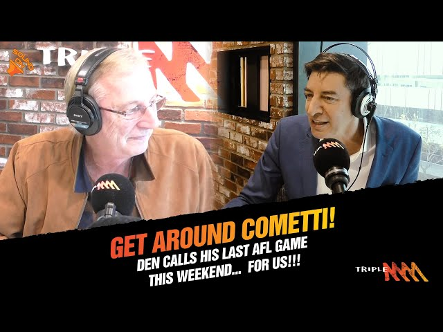 Dennis Cometti Announces That The 2021 AFL Grand Final Will Be His Last Game | Triple M
