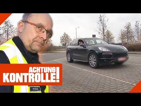 Verdächtiger Porsche Cayenne Im Visier: Ist Das Auto Gestohlen? | Achtung Kontrolle | Kabel Eins