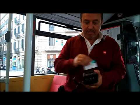 Control of tickets in the city transport of Barcelona. October, 2017