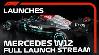 LIVE: Mercedes Reveal Their 2021 Car: The W12