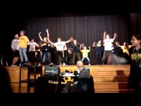 Grant Beacon Middle School Gym Class Dance
