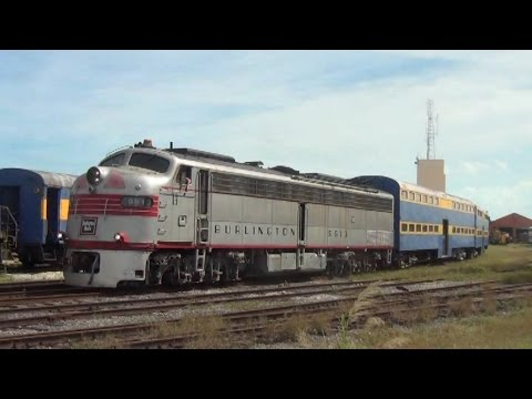 Rare Footage! Vintage Streamliners and Switchers at Gold Coast Railroad Museum