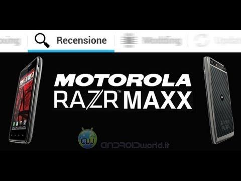 Motorola RAZR Maxx, recensione completa in italiano by AndroidWorld.it