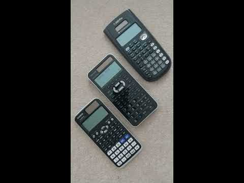 TI-36X Pro, SHARP EL-W516X, CASIO fx-991EX -- differences and an issue with  the Casio