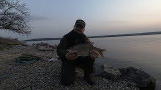 Рыбалка в апреле на водохранилище