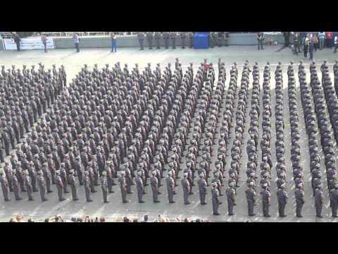 Canção da Polícia Militar - Formatura de Soldados 2015