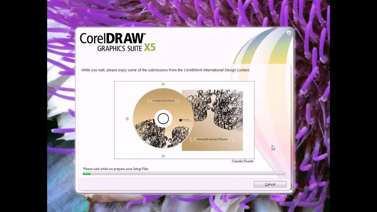 Installation error with download coreldraw x5 coreldraw.
