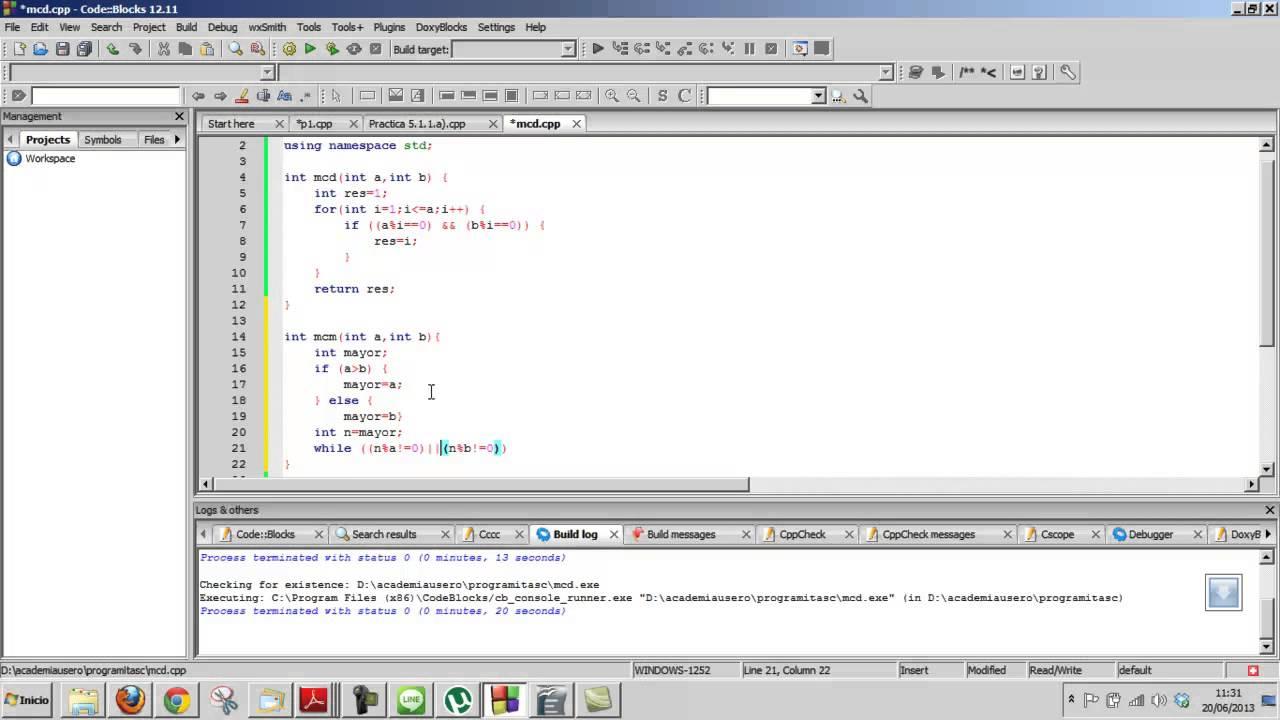Dev C++ C 11