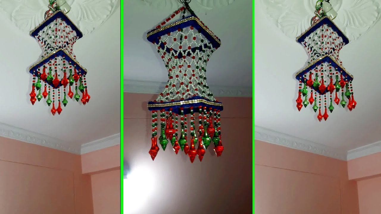 Diy Room Decor How To Make Jhumar Chandelier Wall