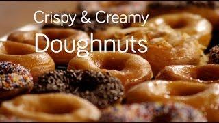 How to Make Crispy American Doughnuts