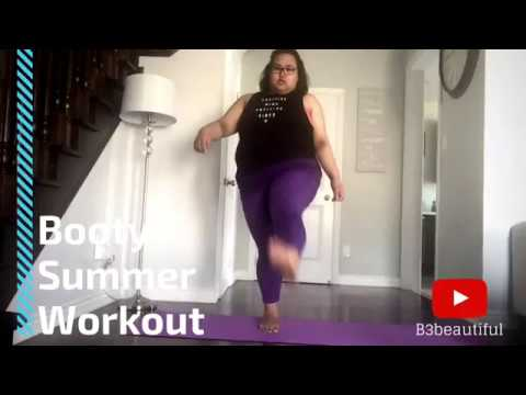 Weight Loss Journey | Day 18 | Booty Summer Workout