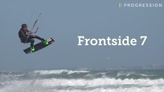 Ozzie Smith - Frontside 7 - Kiteboarding Tricks