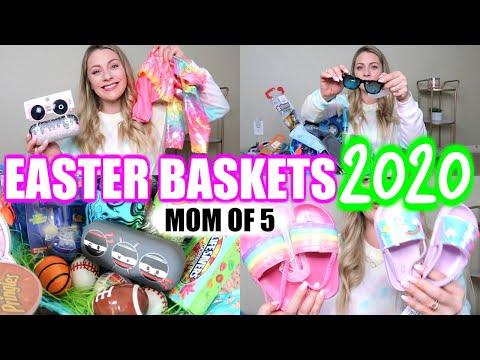 🐥🐰what-i-got-my-5-kids-for-easter-2020/-mom-of-5-/-easter-basket-ideas-for-boys-&-girls-2020