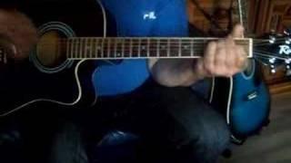 gitaarles nr 9 g en g  slaggitaar lets twist again
