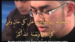 Hazamin - Zikir 5 Subhanallah, Alhamdulillah, Allahuakbar