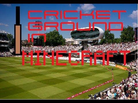 Cricket ground i built in minecraft [2] SteinCC