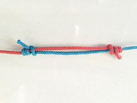How To Tie An Adjustable Bend Knot