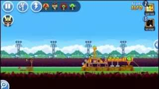 Angry bird friends weekly videos with new 2nd level 2014 HD