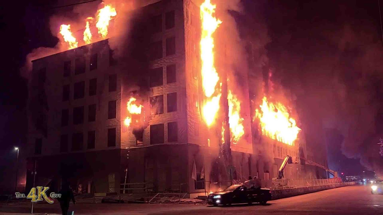 Minneapolis: Apartment building set ablaze during George Floyd ...