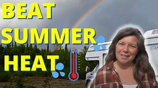 SUPER SIMPLE Tips to NOT FRY in the HEAT Living in an RV or Van