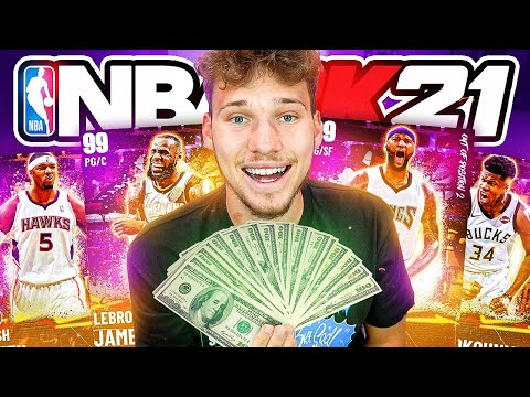 What Does SPENDING $500 On NBA 2K21 Packs Get You?