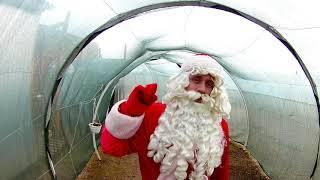 Поздравления Деда Мороза из #кроликопарка