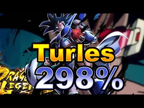 Turles At 298% In Dragon Ball Legends!