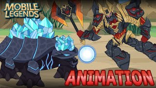 MOBILE LEGENDS ANIMATION #62 - BEAST CLASH PART 1 OF 2