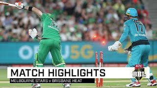 De Villiers Heats Up For Brisbane As Stars Go Cold | Kfc Bbl|09