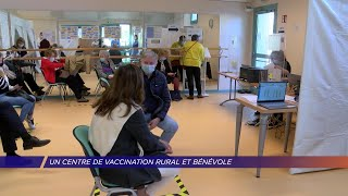 Yvelines | Un centre de vaccination rural et bénévole